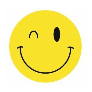 autocollant-smiley-clin-d-oeil